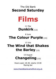 Film Nights @ The Old Bank Camelford | England | United Kingdom