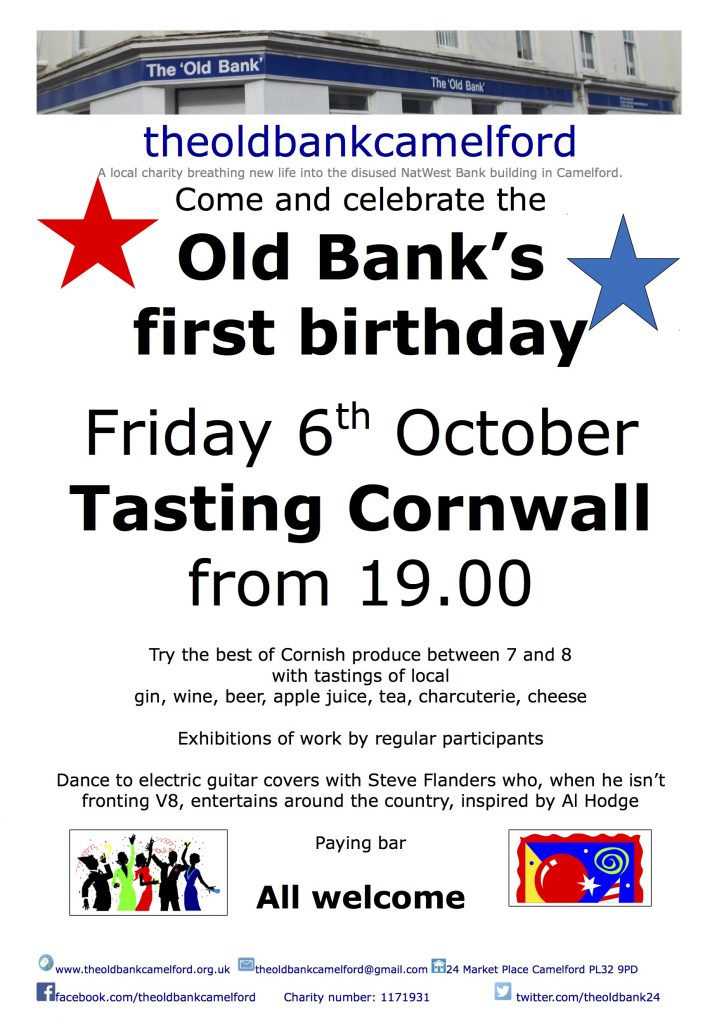 Old Bank First Birthday Event